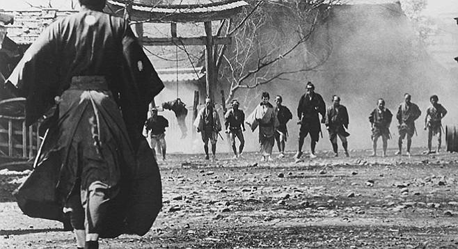 Yojimbo, some folks argue, is based on Dashiell Hammett's Red Harvest.