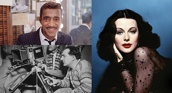 Sammy, Hedy, and Fritz star in three documentary profiles at the Jewish Film Festival.