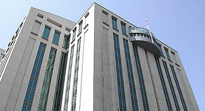 Downtown's Central Jail