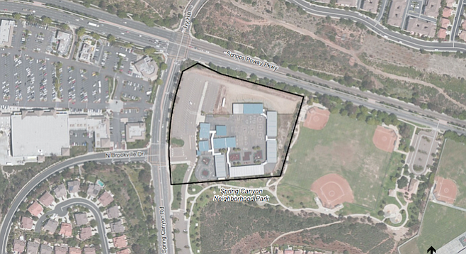 The 6.7 acres of land at Scripps Poway Parkway and Spring Canyon