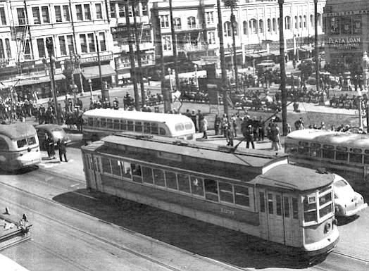 Downtown San Diego, World War II
