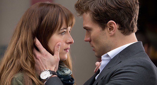 "Fifty Shades Freed: ""It's okay, sweetie; just hang on for this last film. Think of how good Twilight was for Kristen and Robert."""