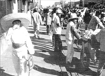 Mexicali's population soared from 6,200 in 1920, to 64,701 in 1950, to more than 500,000 in 1974.