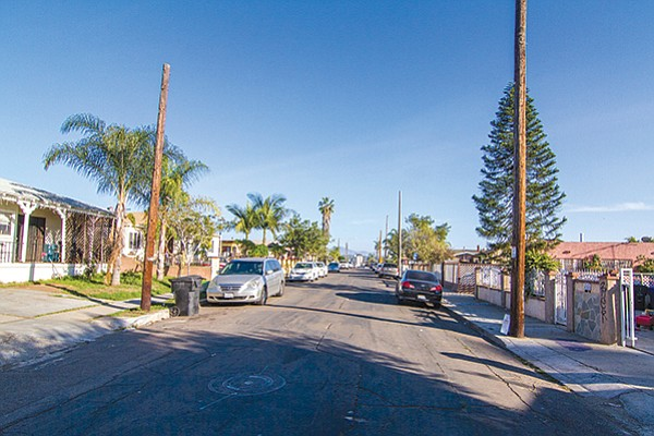 """City Heights homes. """"We were used to living in Hillcrest, so living out here would be weird."""""""