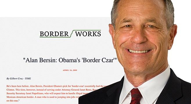 Bill Clinton chum Alan Bersin, leading a firm that facilitates border-related transactions, touts connections to former U.S. government officials.