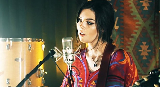 Elise Trouw isn't looking for a major-label deal right now.