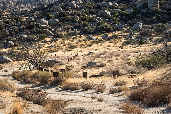 Paroli Homesite. A few artifacts remain, including a spring and cement troughs used for watering cattle.
