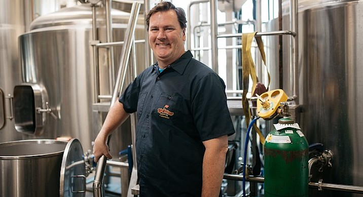 Paul Sangster, SD Brewers Guild president, and cofounder of Rip Current Brewing