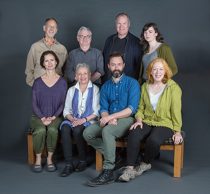 The cast of Uncle Vanya. They're smiling because they have wifi.