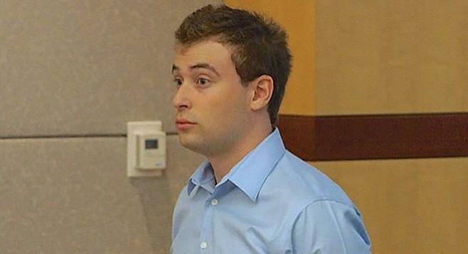 Jack Doshay at his September 2015 hearing