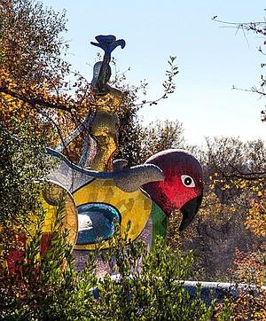 Queen Califia Magical Circle sculpture garden