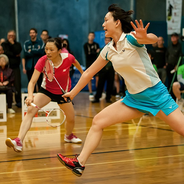 $12,000 cash prize to the best at badminton