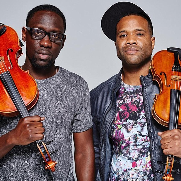 Black Violin, classically trained musicians with a love of hip-hop