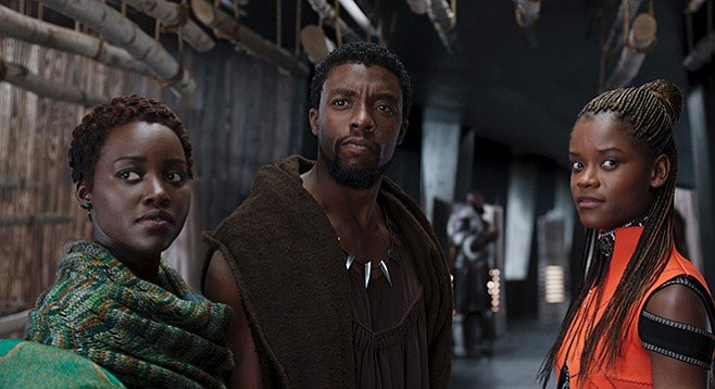Black Panther borrows elements from what came before.