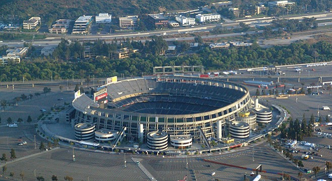 Everybody wants the property formerly known as Qualcomm Stadium