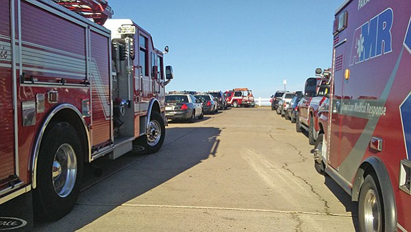 """""""The city fire department has been sending two engines/trucks to all medical calls that don't have a medic unit assigned."""""""