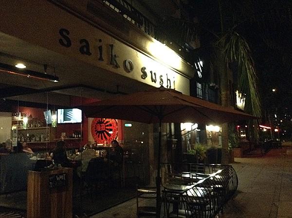 Saiko Sushi's Coronado location