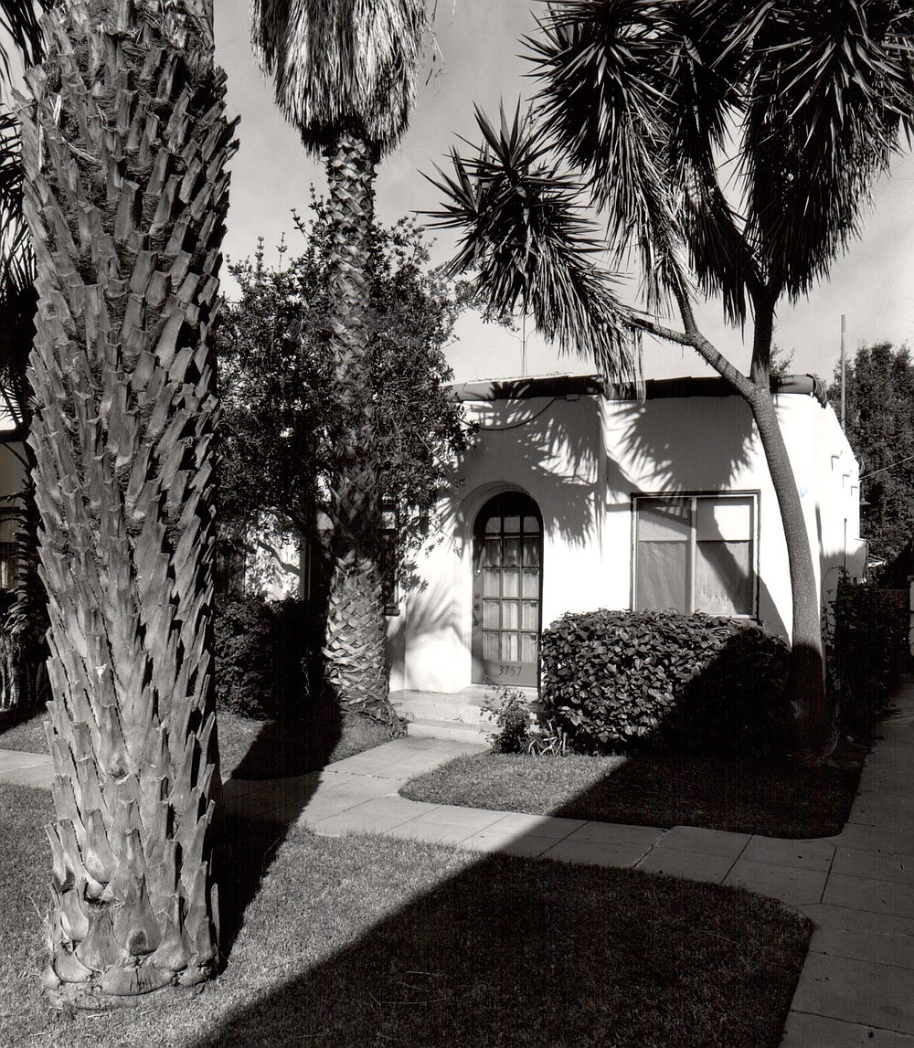 3757 Fourth Avenue, San Diego. Many good examples of the bungalow court exist in Hillcrest, North Park, and Ocean Beach, neighborhoods that were known as ''trolley suburbs.""