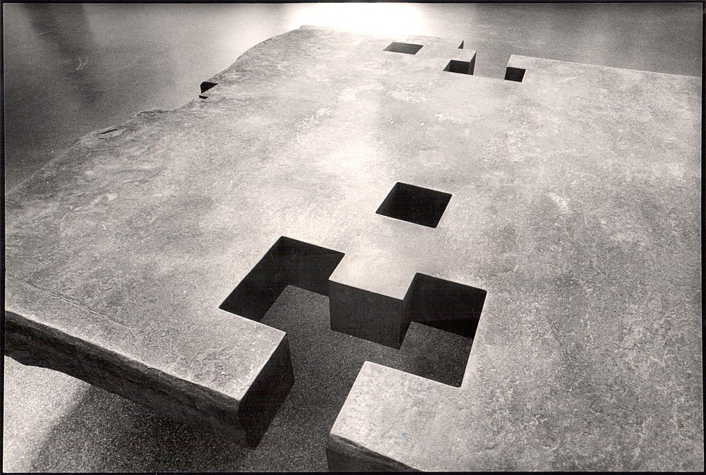 """Architect's Table"" by Eduardo Chillida, 1984"