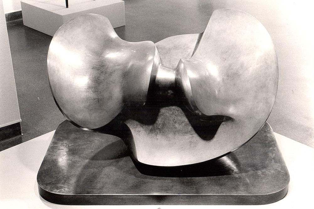"""Divided Oval: Butterfly"" by Henry Moore, 1982"