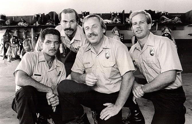 Joe Taormina, Mike Cabral, Lanny Grubb, Mike Thomas