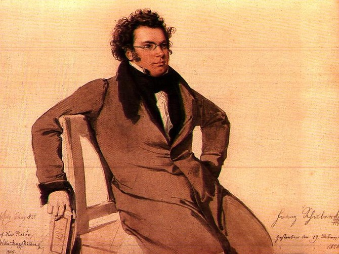 This quintet is the last piece of instrumental music Schubert composed. It was written just a few months before his death in 1828.