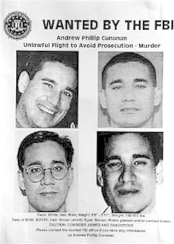 Andrew Phillip Cunanan — FBI Wanted Poster