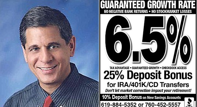 Mansueto and one of his other misleading U-T ads