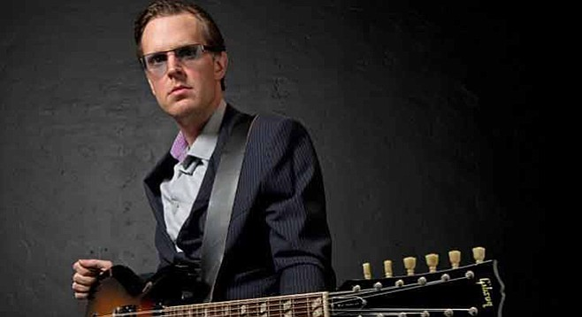 "Joe Bonamassa didn't write ""Sloe Gin,"" but that's okay"