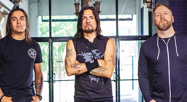 Prong brings their somewhat intellectual approach to punk metal to Brick by Brick