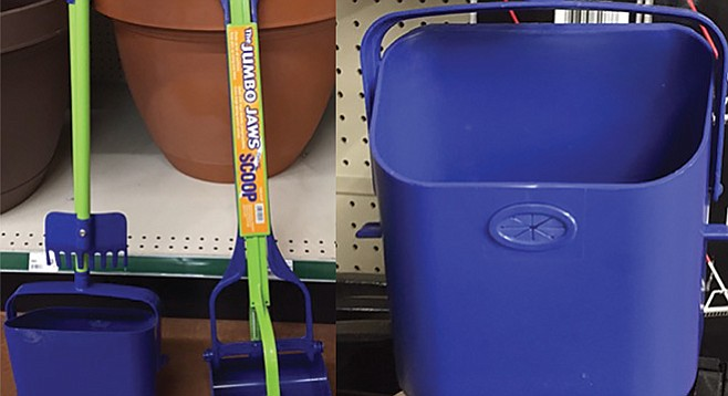 Heavy-duty poop tools from Flexrake