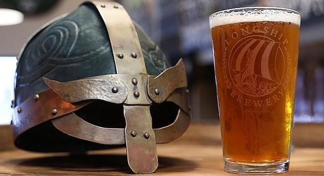 Vikings and beer promo photo
