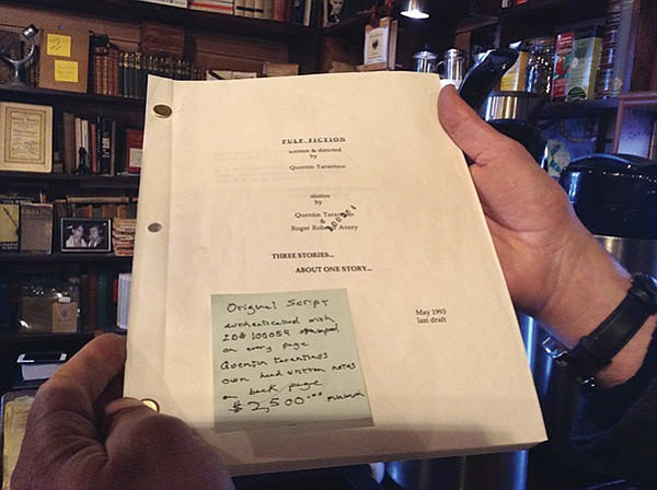 Tarantino's last draft of Pulp Fiction