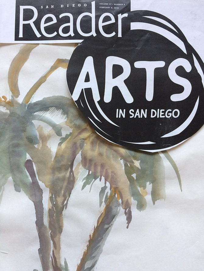 Art is a plenty as palms in San Diego