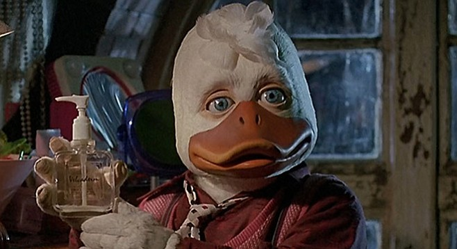 There were plenty of good movies in the '80s, but what about Howard the Duck?