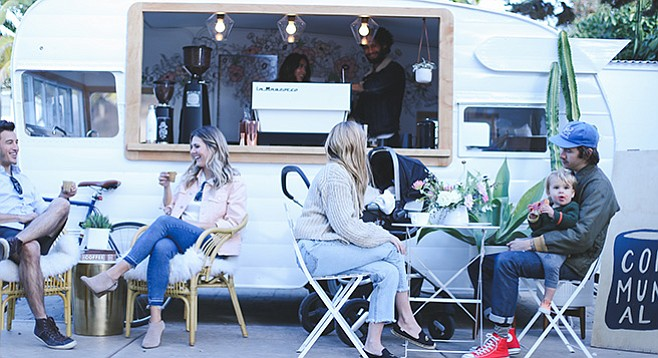 Communal Coffee will serve drinks out of Shasta trailer