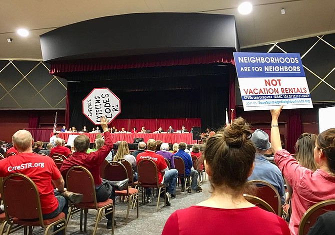 After years of protests, town halls, and debates, there hasn't been much more than declarations of solutions and compromises that never go anywhere. (Save San Diego Neighborhoods)