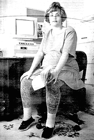 Christine Ridgway was an English major in college, and she had been a technical writer for years.