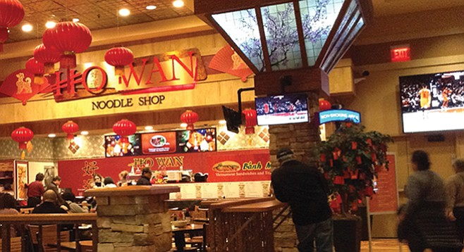 Can't resist Ho Wan Noodle Shop, next to Kate's