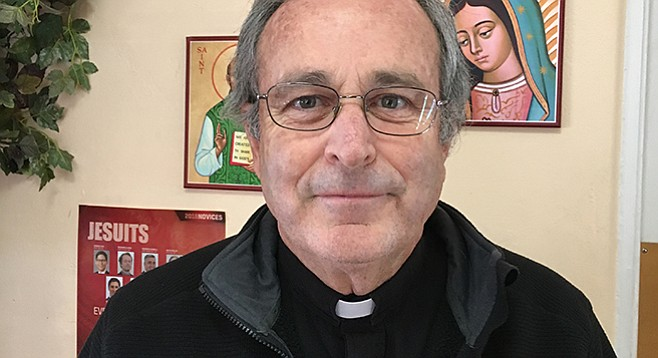 """Father John Auther: """"If I can make it to purgatory, I'll be happy."""""""