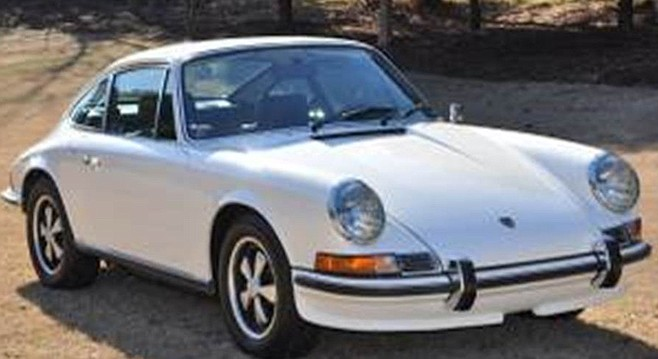 1971 Porsce 911. Philip Yanni sold a 1971 Porsche 911s to a wealthy Englishman, Timothy Andrew Roper.