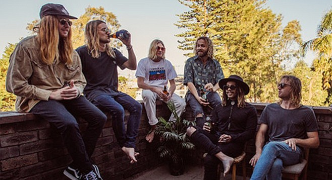 Ocean Alley — aloof and somewhat ironic approach to island psychedelia