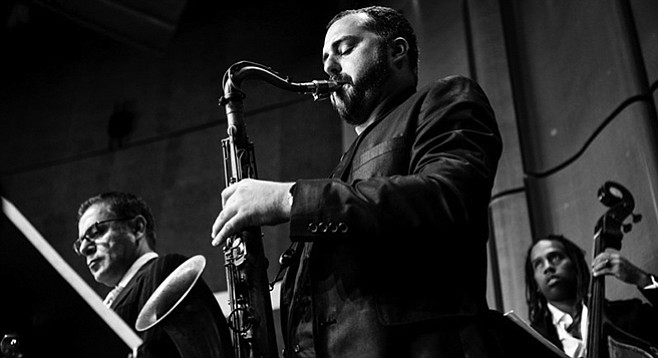 Robert Dove recounts from memory all of the weekly jazz shows in San Diego - Image by Robert Sanchez