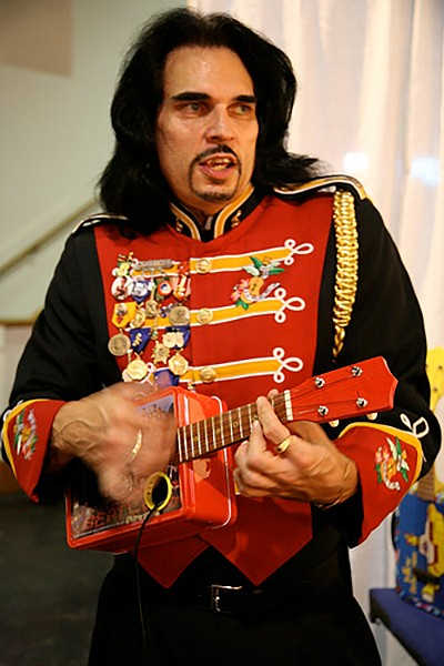 """""""I would not be Ukulele Ray had it not been for George Harrison, who came to my home to view my ukulele collection."""""""