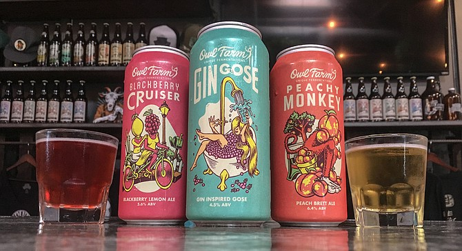 There's gonzo inspiration behind these cans of beer