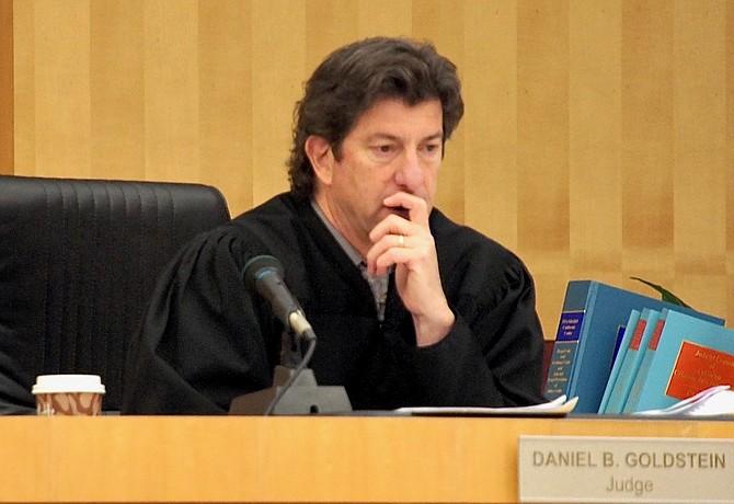 Judge Goldstein. Photo by Eva.