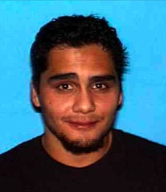 Photo of David Lucero, Jr. released by sheriff when he was a fugitive.