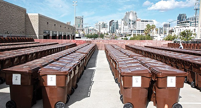 Homeless storage in East Village, 2015