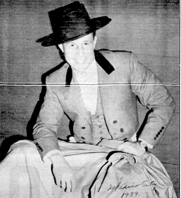 """Boetticher in 1939 before Hollywood: """"When I was a kid, people used to beat me up and chase me home and pants me."""""""