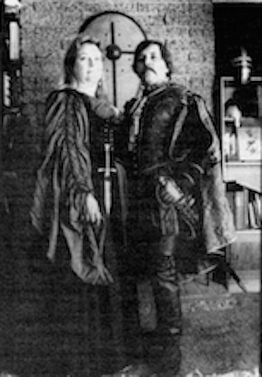 Lady Brianna and Lord Randwulf